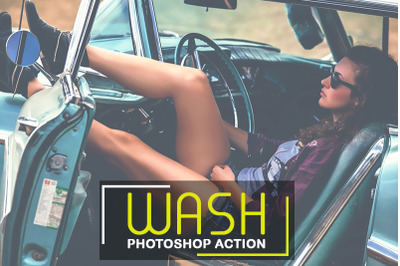 Wash Photoshop Action