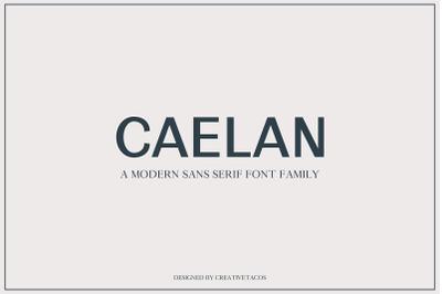 Calean Sans Serif Font Family