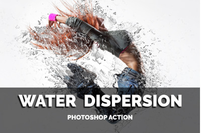 Water Dispersion Photoshop Action