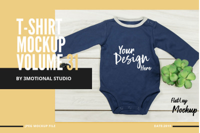 Neo Baby T-Shirt Mockup Volume 31