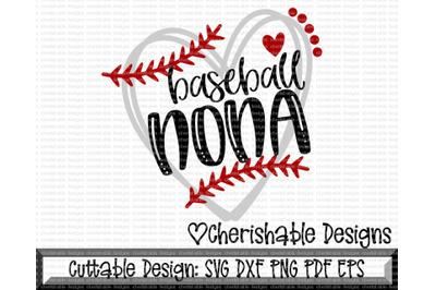 Baseball Nona Heart Cutting File