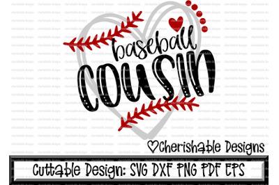 Baseball Cousin Heart Cutting File