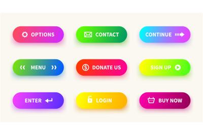 Action gradient button. Learn more web ui navigation buttons&2C; mobile g
