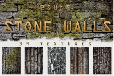 Stone walls textures, brick wall, walls backgrounds