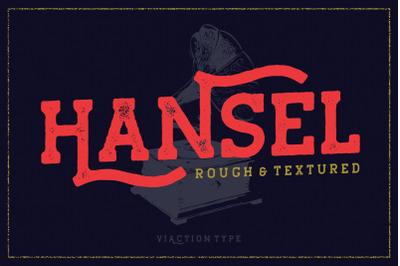 Hansel - Vintage Typeface