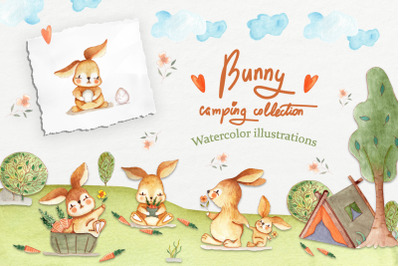 Bunny Camping Collection