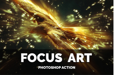 Focus Art Photoshop Action