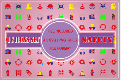 Safety and Healty Icons Pack