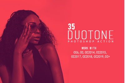 35 Duotone Photoshop Actions