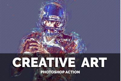 Creative Art Photoshop Action