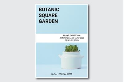 Botanic Square Garden Flyer