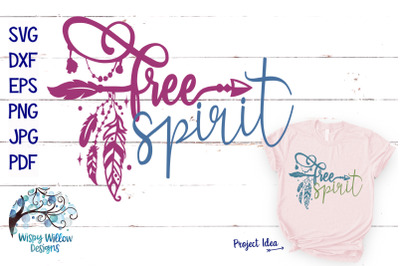 Free Spirit Boho SVG Cut File