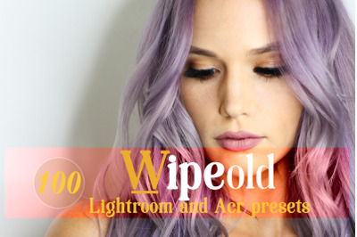 Wipeold Lightroom 100 and ACR 100 Presets