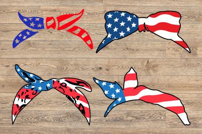 Bandana mask United States Flag 4th july independence day 1375s