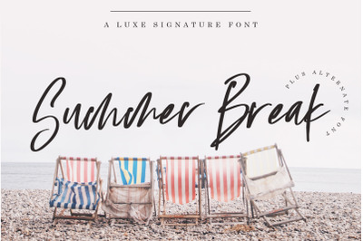 Summer Break Font
