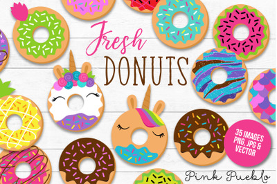 Donut Clipart and Vectors