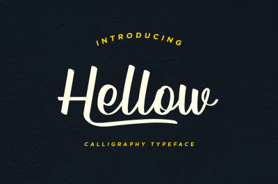 Hellow - Calligraphy Typeface