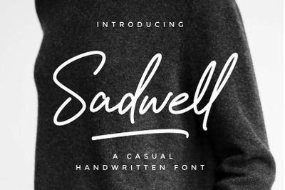 Sadwell - A Casual Handwritten Font
