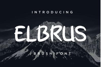 ELBRUS - Brush Font