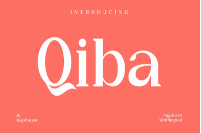 Qiba - Simple Serif Font