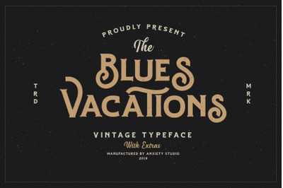 Blues Vacations Extra Logo