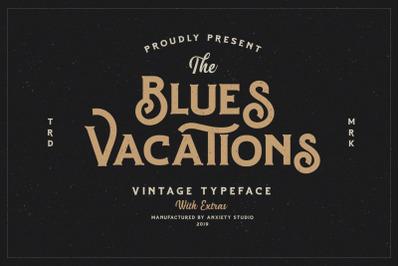 Blues Vacations Extra Logo