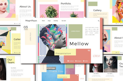 Mellow Google Slides Template