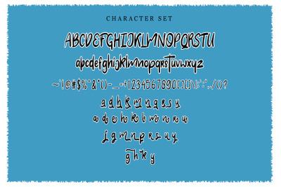 Clarra Layered Fonts