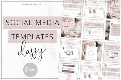 Canva Classy Social Media Templates