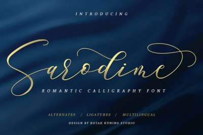 Sarodime Romantic Script