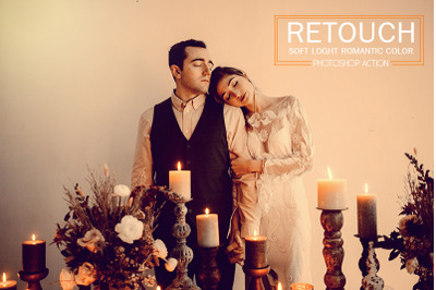 Retouch Soft Light Romantic Color