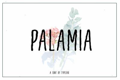 Palamia Handwritten  Font