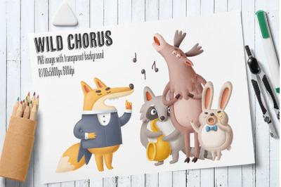 Wild Chorus PNG image