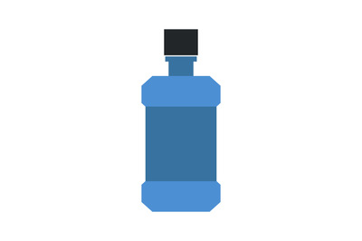 Mouthwash bottle icon