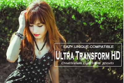 Ultra Transform HD Lightroom Presets