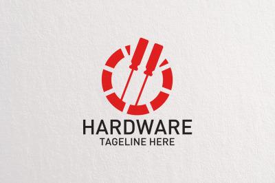 Premium Hardware Logo Template