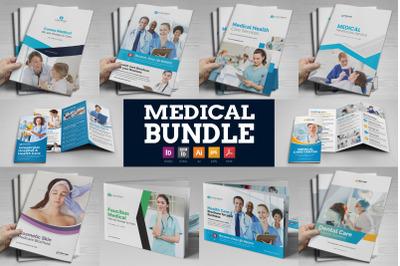 Medical HealthCare Brochure Bundle