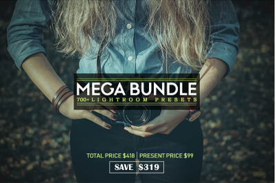 700+ Mega Bundle Lightroom Presets