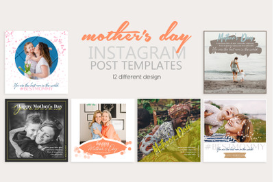 Mother's Day Instagram Post Templates