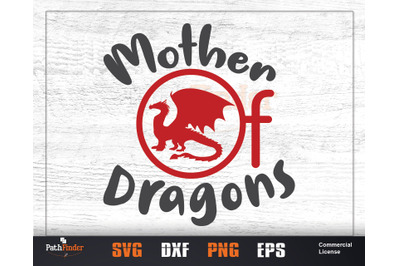 Mother of Dragons SVG, Game of thrones gift, Dragon shirt, Dragon Egg