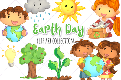 Earth Day Clip Art Collection