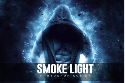 Smoke Light  Photoshop Action