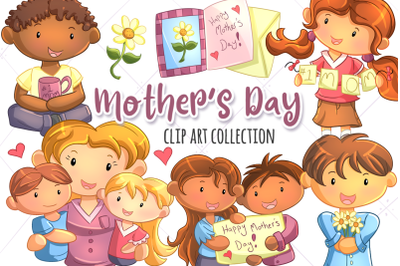 Mothers Day Clip Art Collection