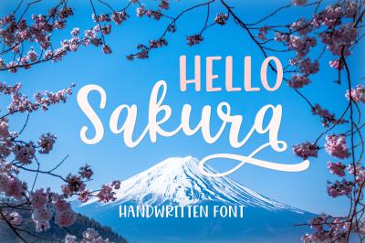 Hello Sakura