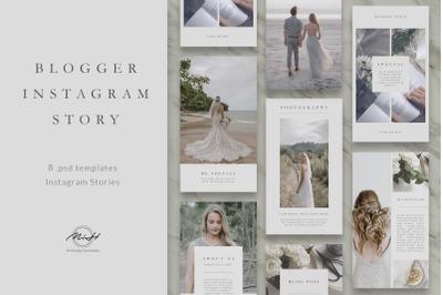 Vintage Blogger Instagram Stories Template / Instagram Pack/ Blog