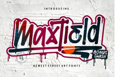 Maxtield - Graffiti Fonts