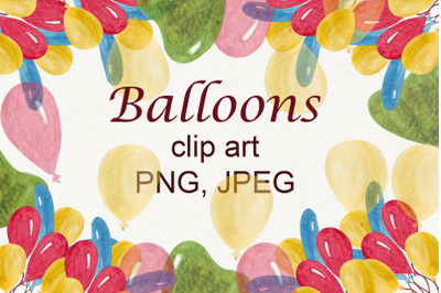numbers from balloons