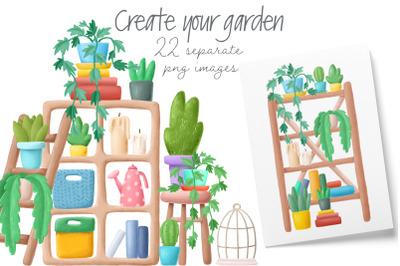 Home Garden creator