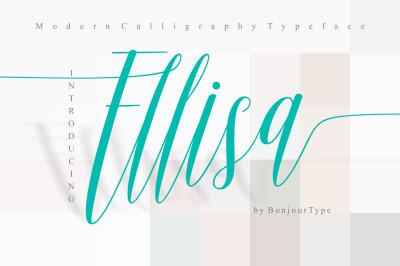 Ellisa Script | Calligraphy
