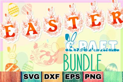 Easter Mega Bundle SVG Cut Files & Alphabets